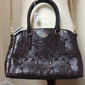 🆕 BNWT Authentic Coach patent leather purse